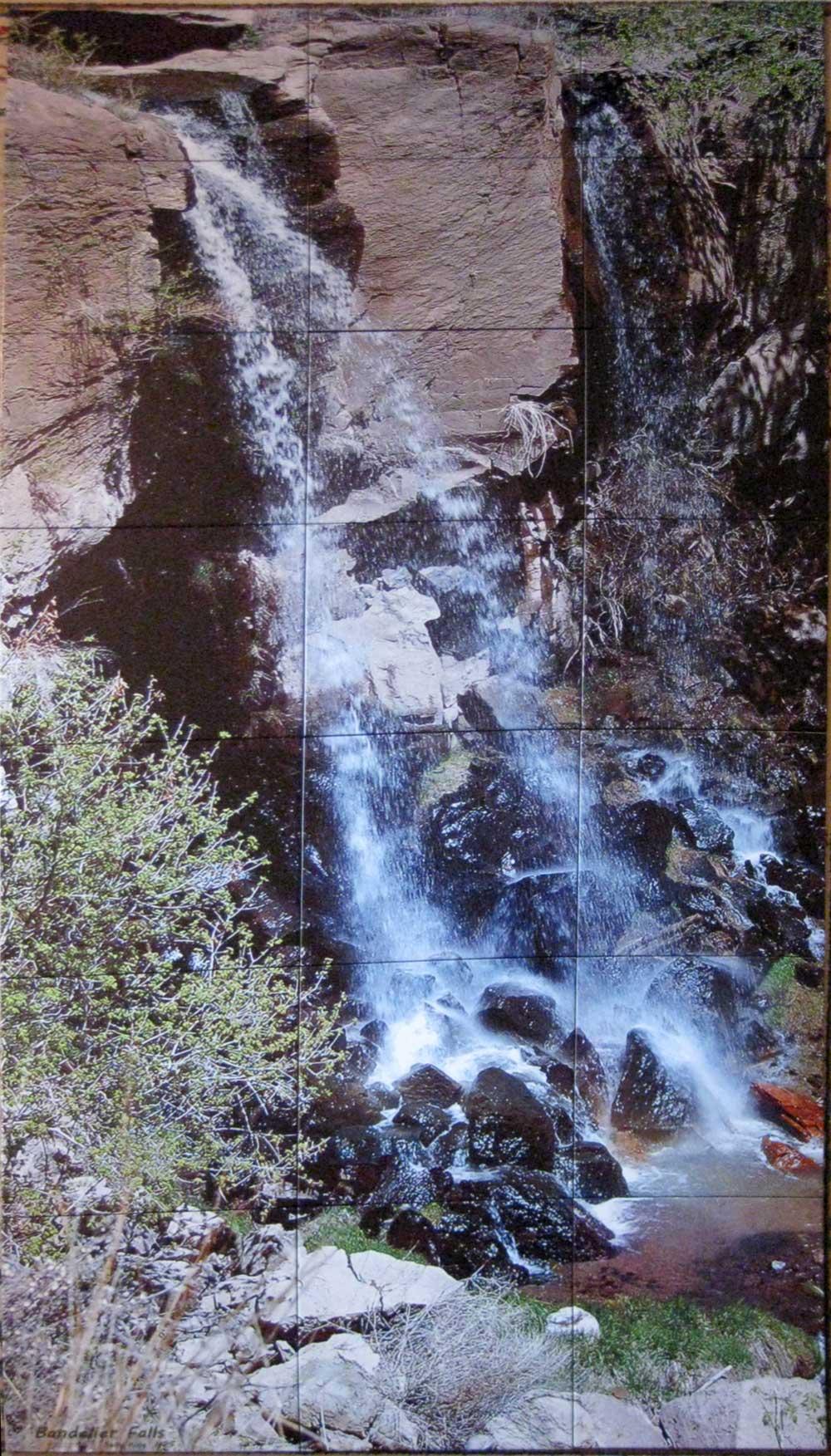 Bandelier Falls Tile Mural