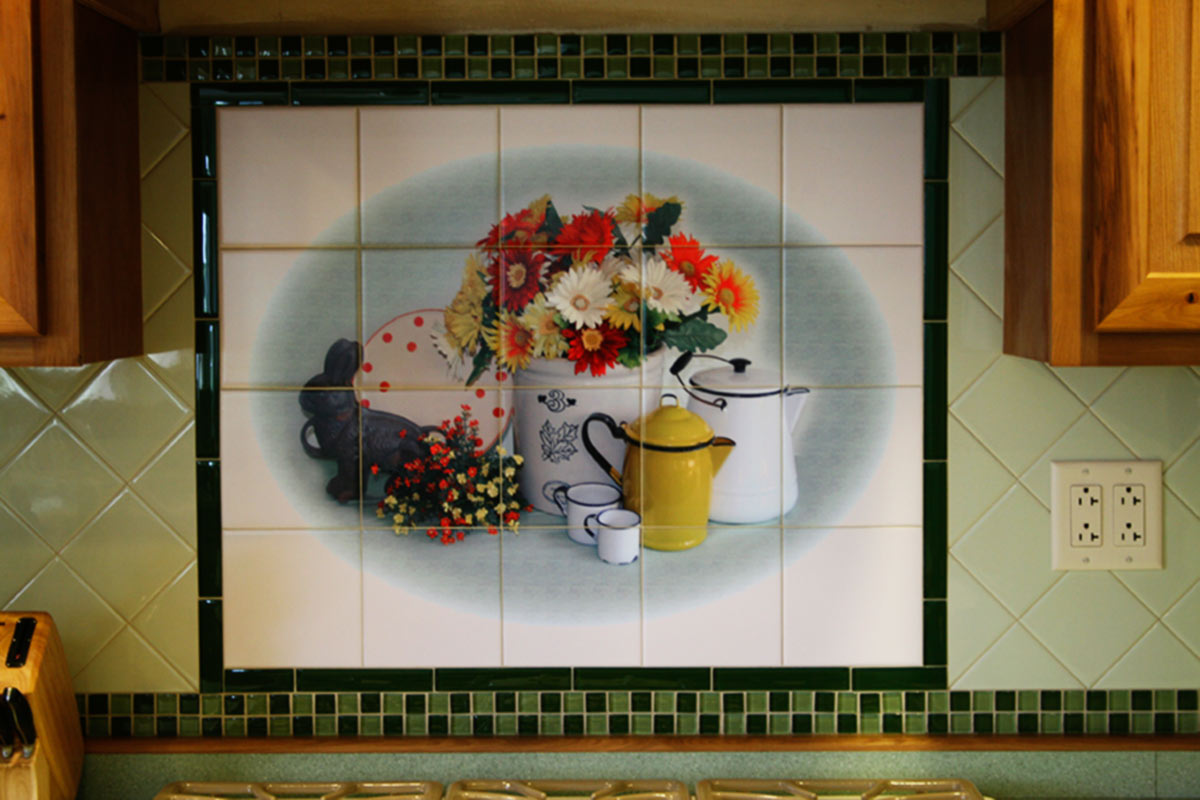 Grannies Kitchen Tile Backsplash