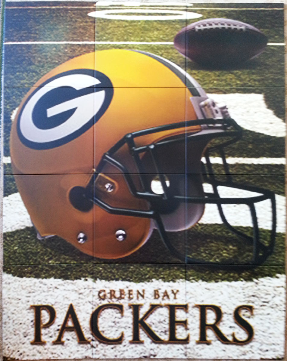 Green Bay Packers Floor Tiles