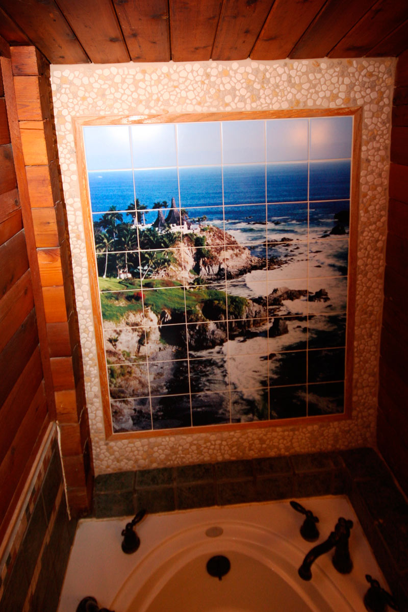 Custom tiles and tile mural pictures custom tile murals for Custom photo mural