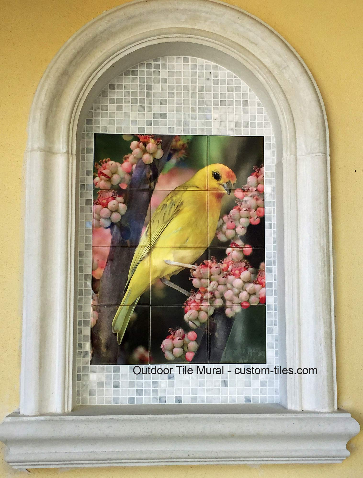 Outdoor Photo Tile Custom Mural