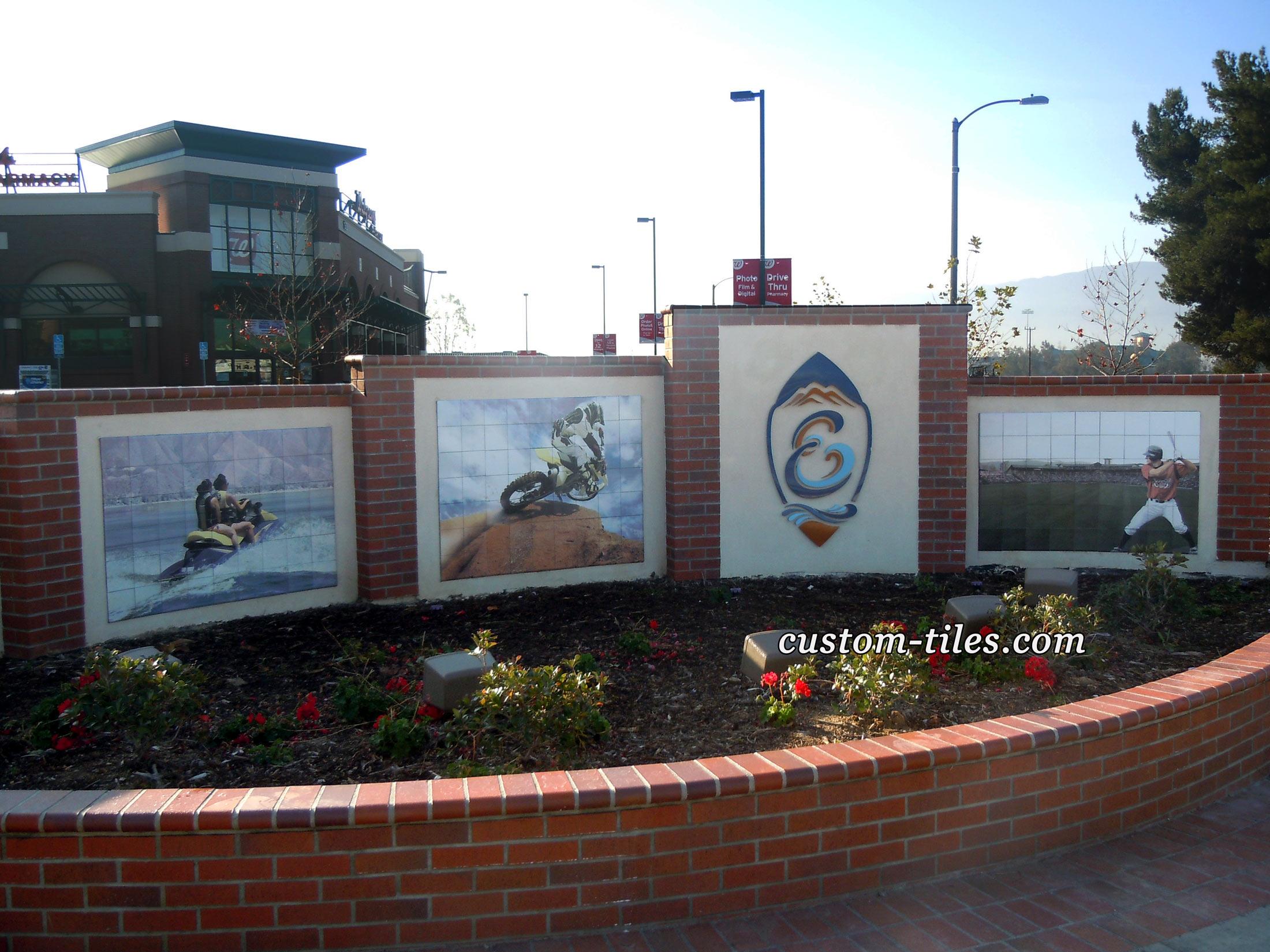 Outdoor Tile Murals Fade Resistant
