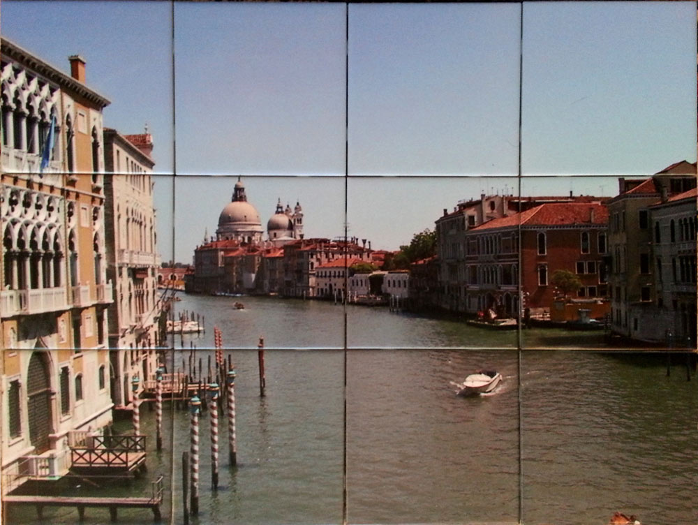 Venice Canal Tile Mural Backsplash