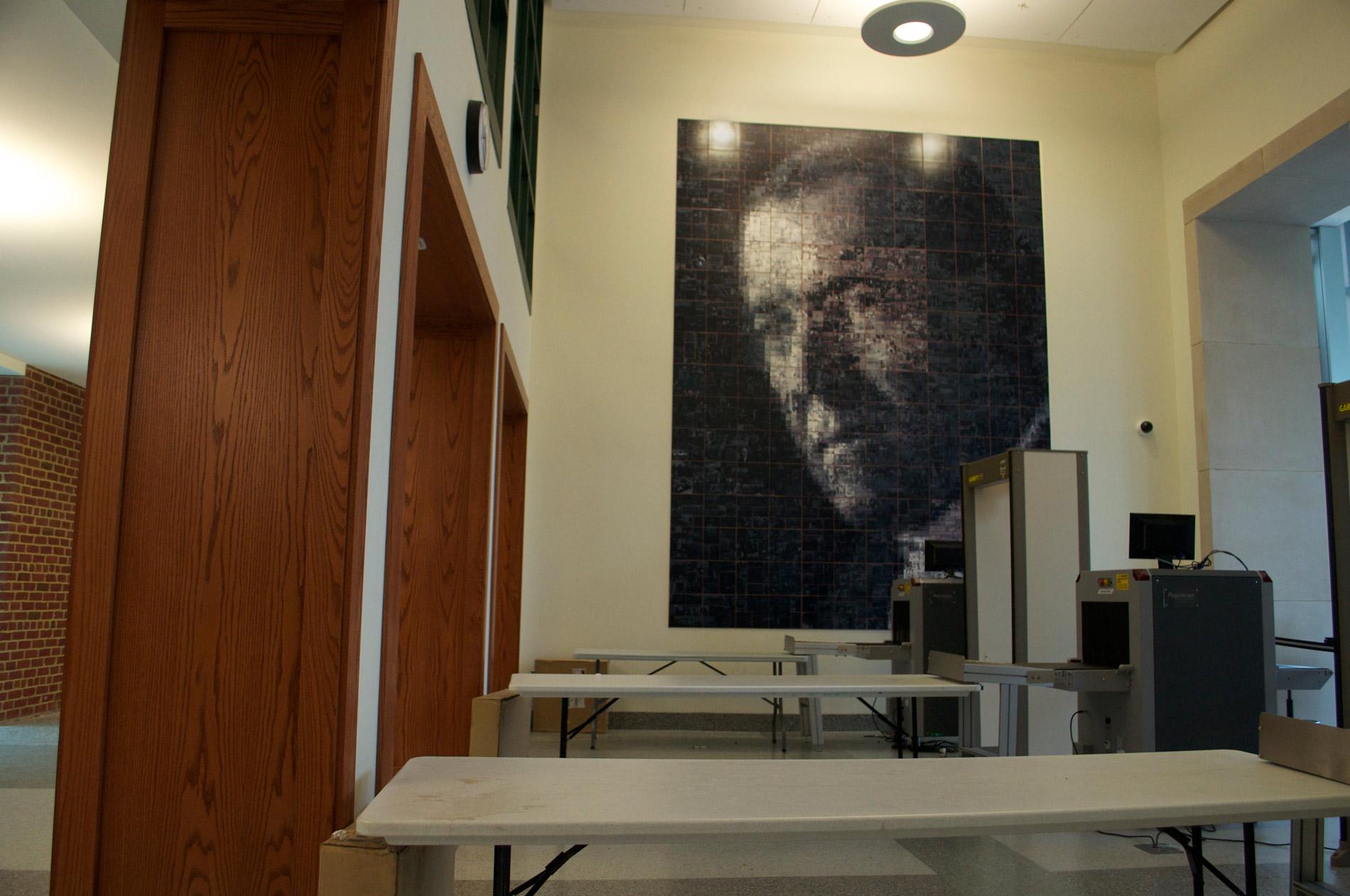 Woodrow Wilson Composite Tile Mural