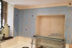 Berkeley Servery Yale U Tile Decor