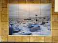 Florida Beach Photo Tile Backsplash