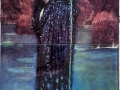 Glass Tile Mural Circe - John W. Waterhouse