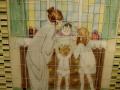 Custom Glass Art Tile Mural