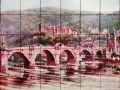 Heidelberg Ceramic Tile Mural from Photo