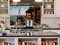 Kitchen Tile Mural Backsplash Installation