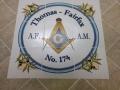 Floor Tile Logo Medallion Masons Hall