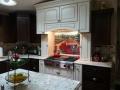 Tile Mural Kitchen Backsplash Installation
