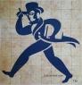 University Custom Tile Art Mural