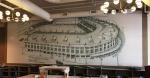Wrigley Field Custom Tile Mural Zachary Hotel
