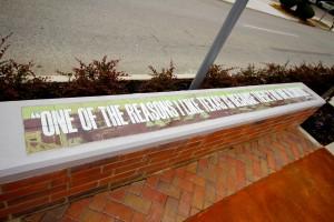 Graffiti Resistant Outdoor Art Tiles